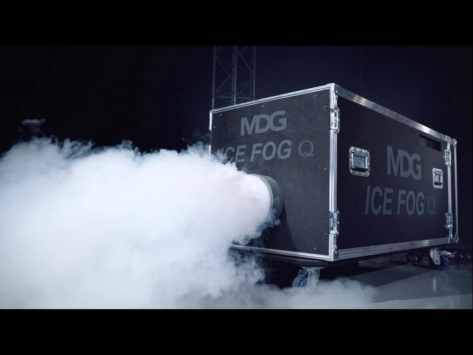 MDG ICE FOG COMPACK, FUMEE LOURDE